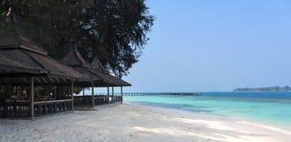 印度尼西亚海岛sepa 免版税库存图片