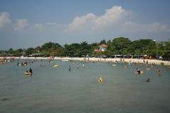 印度尼西亚海滩 图库摄影
