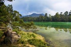 印度尼西亚湖pengilon 库存图片