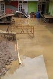 印度尼西亚灾害暴洪-加鲁特007 免版税库存图片