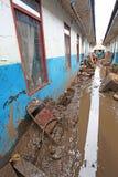 印度尼西亚灾害暴洪-加鲁特060 库存照片