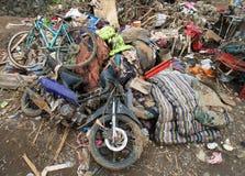 印度尼西亚灾害暴洪-加鲁特045 免版税库存图片