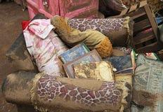 印度尼西亚灾害暴洪-加鲁特029 免版税库存图片