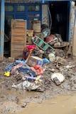 印度尼西亚灾害暴洪-加鲁特030 免版税库存图片