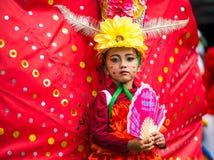 印度尼西亚狂欢节在独立天 库存照片