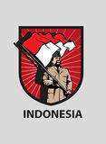 印度尼西亚独立日 免版税库存照片