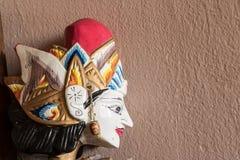 印度尼西亚玩偶是美丽的 免版税库存图片