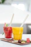 从印度尼西亚的光彩的饮料 图库摄影