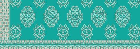 从印度尼西亚的蜡染布 免版税库存照片