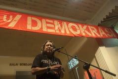 印度尼西亚的选举门限 图库摄影