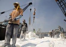 印度尼西亚端口工作者 免版税图库摄影