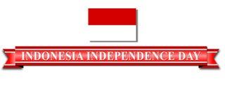 印度尼西亚美国独立日 免版税库存图片