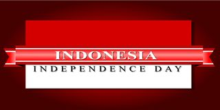 印度尼西亚美国独立日 图库摄影