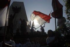 印度尼西亚美国独立日 库存图片