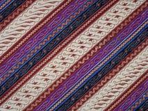 印度尼西亚蜡染布模式 库存图片