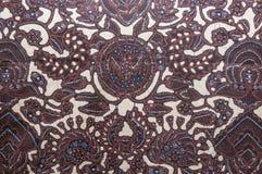 印度尼西亚蜡染布 库存图片