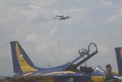 印度尼西亚语增加空运的空军队 图库摄影