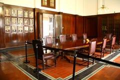 印度尼西亚银行博物馆内部  库存图片