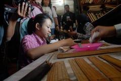 印度尼西亚需要合格的老师 库存照片
