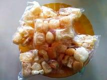 印度尼西亚食物酥脆膳食-亚洲食物推荐了 库存图片