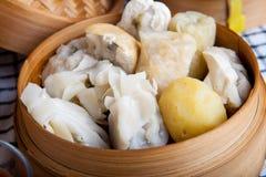 印度尼西亚食物Baso Tahu万隆 免版税库存照片