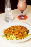 印度尼西亚食物Kwetiaw海鲜 图库摄影