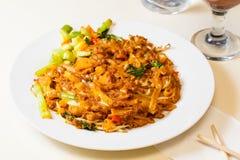 印度尼西亚食物Kwetiaw海鲜 免版税库存照片