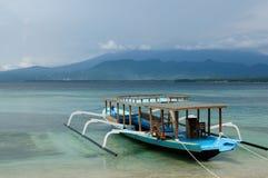 印度尼西亚,龙目岛 Gili海岛 免版税库存照片