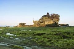 印度尼西亚,巴厘岛, Tanah全部寺庙 免版税图库摄影