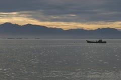 印度尼西亚:渔夫在亚齐 库存照片