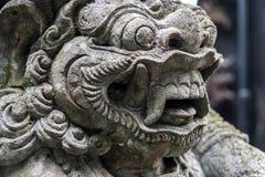 印度尼西亚-在巴厘岛的老印度建筑学 库存照片