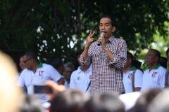 印度尼西亚总统 库存图片