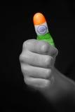 印度成功 库存图片