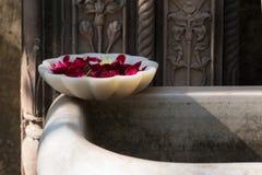 印度拉贾斯坦在一个晴朗的下午的装饰主题在jaip 免版税库存照片
