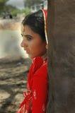 印度拉贾斯坦妇女 图库摄影