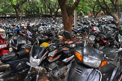 印度摩托车 免版税库存图片