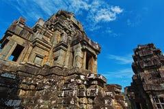 印度教寺庙废墟在吴哥联合国科教文组织站点  库存照片
