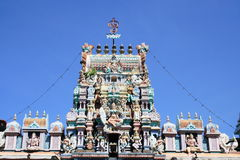 印度教槟榔岛寺庙 库存图片