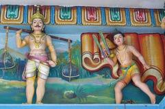印度教雕象 免版税库存图片