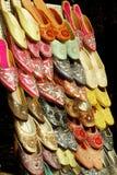 印度斋浦尔凉鞋 库存照片