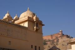 印度斋浦尔大君宫殿 免版税库存图片