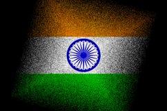 印度旗子/全国印度旗子 免版税库存照片