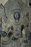 印度替补雕塑 免版税库存照片