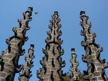 印度柱子寺庙 免版税库存照片