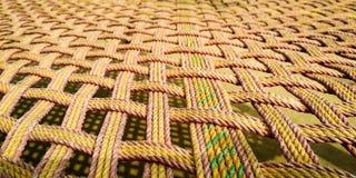 印度样式床叫KHATIA 库存图片
