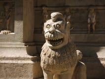 印度样式雕象。 免版税库存图片