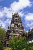 印度泰米尔人templ在路易港,毛里求斯 免版税库存图片