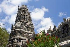 印度泰米尔人templ 路易斯・毛里求斯端口 免版税库存图片