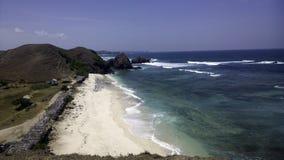 印度洋的看法在巴厘岛印度尼西亚 库存图片