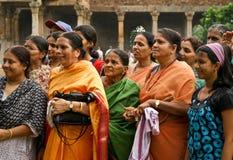印度游人妇女 库存图片